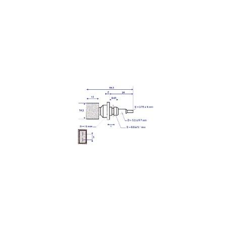 Anode de magnésium - BAXI : SX5668740