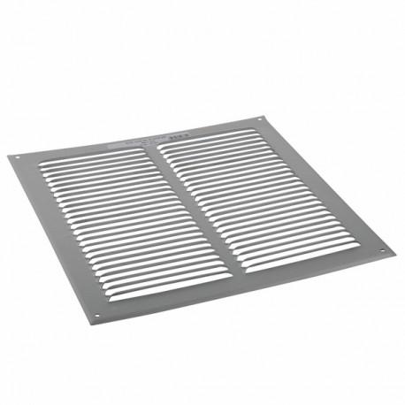 Grille de ventilation aluminium brut 150x150 - ANJOS : 6803