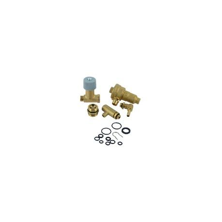 Raccord à bague - Droit tube 16mm x tube 16mm (10 pièces)