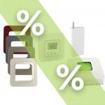 Promotion thermostat et domotique