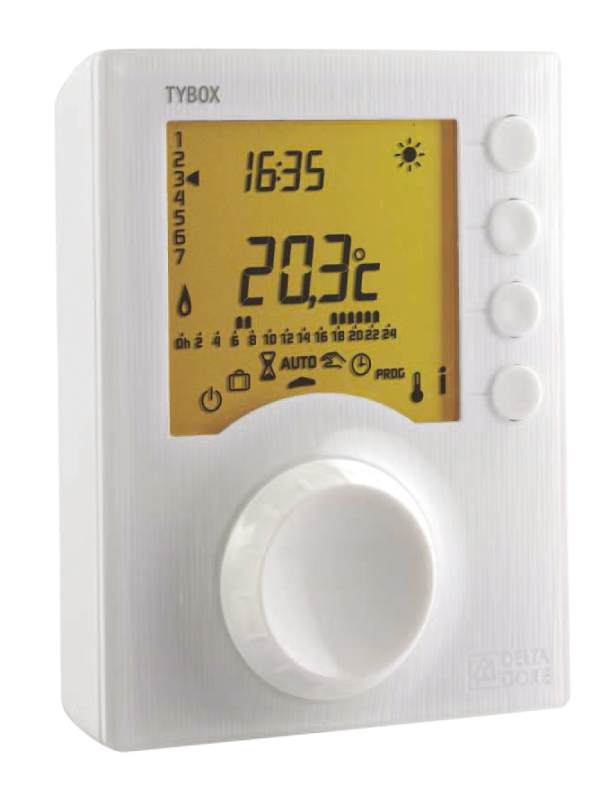 Thermostat d 39 ambiance filaire - Thermostat d ambiance filaire ...