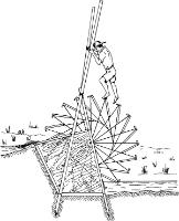 roue pompe de relevage